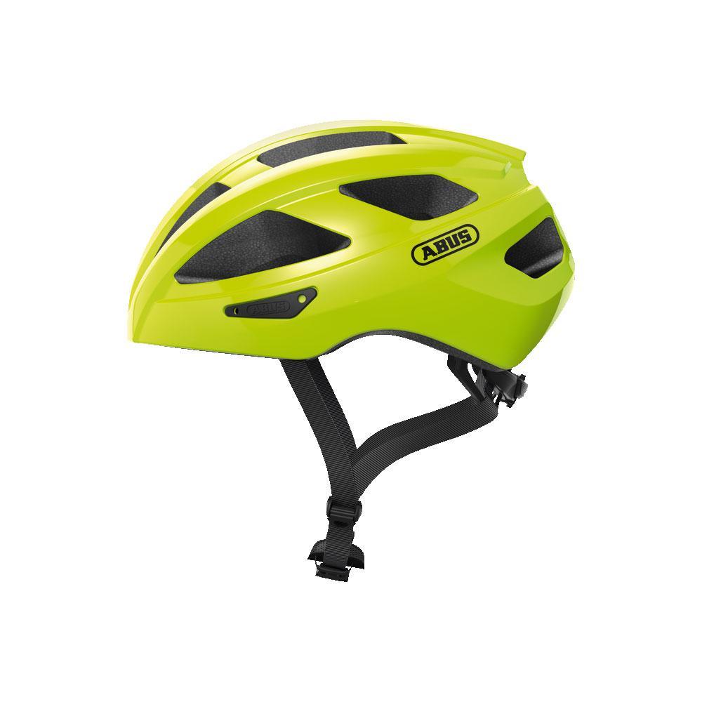 ABUS MACATOR Road Bisiklet Kaskı M - Signal Yellow