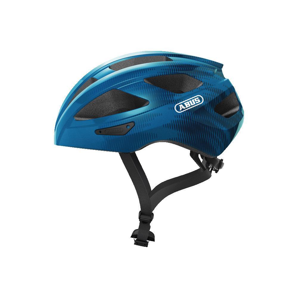 ABUS MACATOR Road Bisiklet Kaskı M - Steel Blue