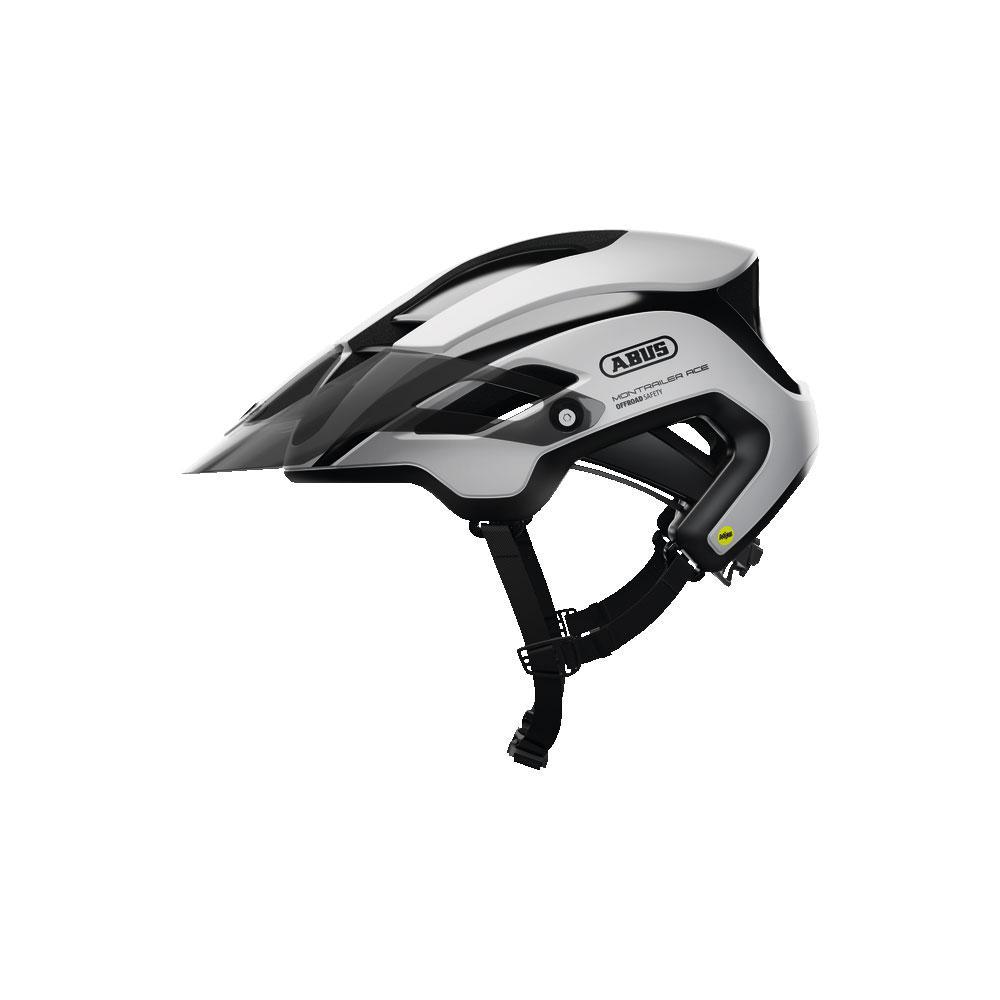 ABUS MONTRAILER ACE MIPS MTB Bisiklet Kaskı M - Polar White