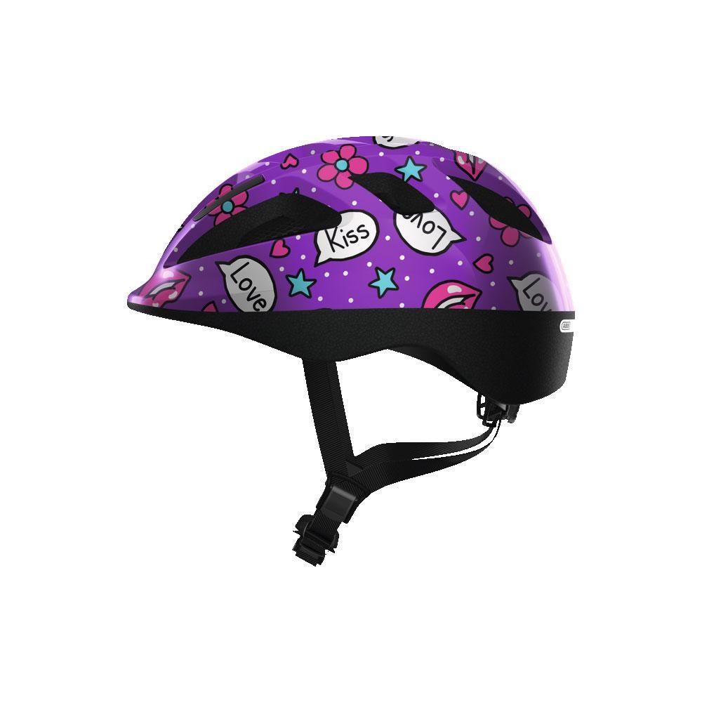 ABUS SMOOTY 2.0 Kids Bisiklet Kaskı M - Purple Kisses