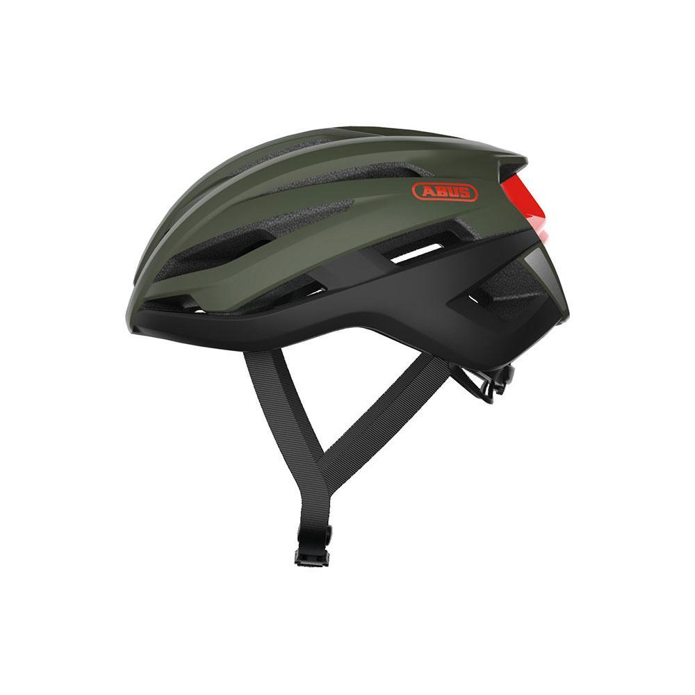 ABUS StormChaser Gravel Bisiklet Kaskı M - Olive Green
