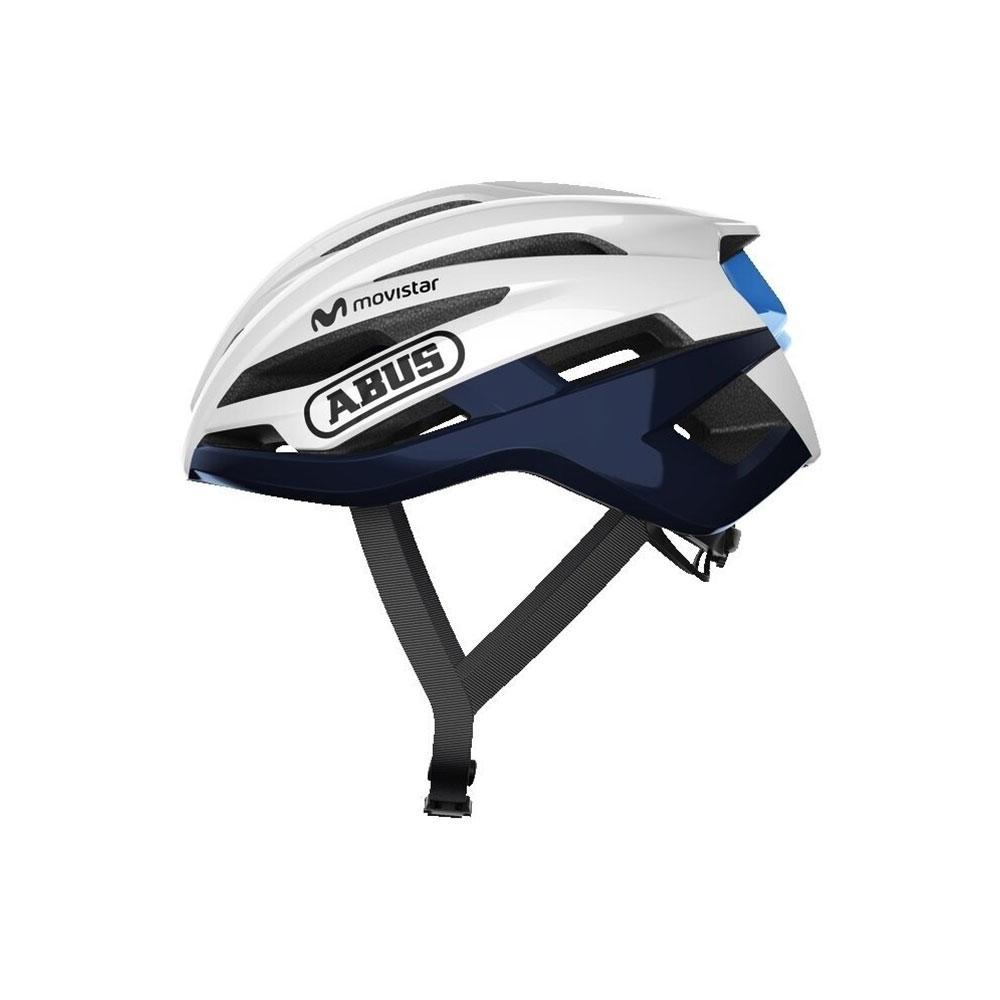 ABUS StormChaser Road Bisiklet Kaskı L- Movistar Team 20
