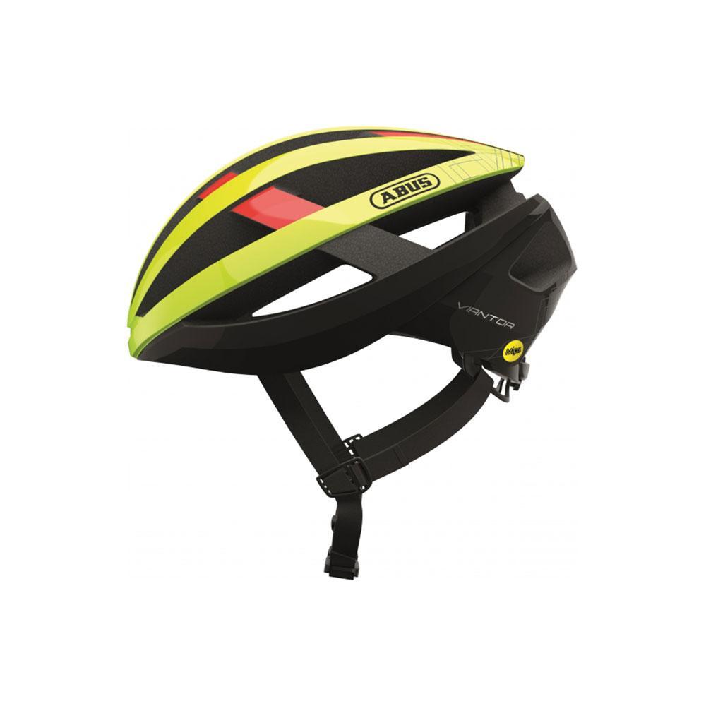 ABUS VIANTOR MIPS Road Bisiklet Kaskı L - Neon Yellow