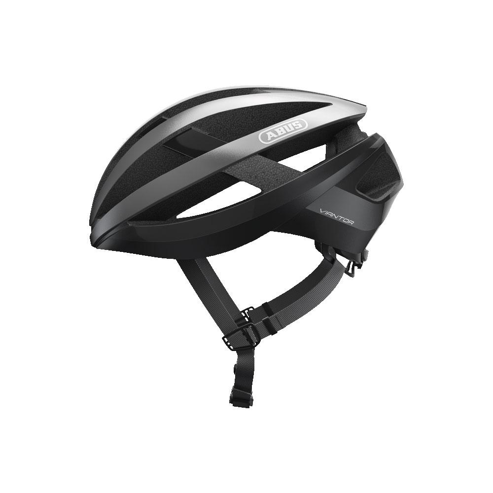 ABUS VIANTOR Road Bisiklet Kaskı L - Dark Grey