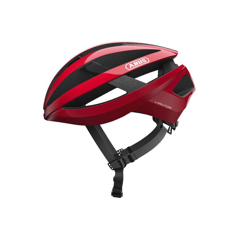 ABUS VIANTOR Road Bisiklet Kaskı L - Racing Red