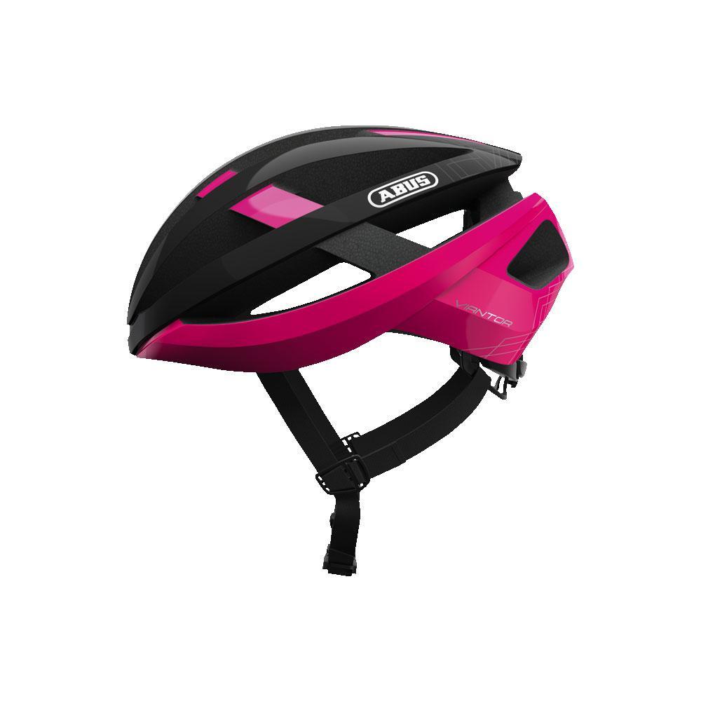 ABUS VIANTOR Road Bisiklet Kaskı M - Fuchsia Pink