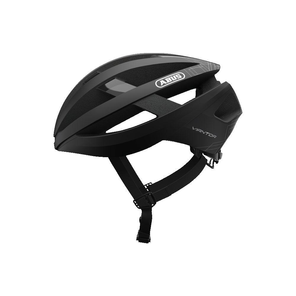 ABUS VIANTOR Road Bisiklet Kaskı M - Velvet Black