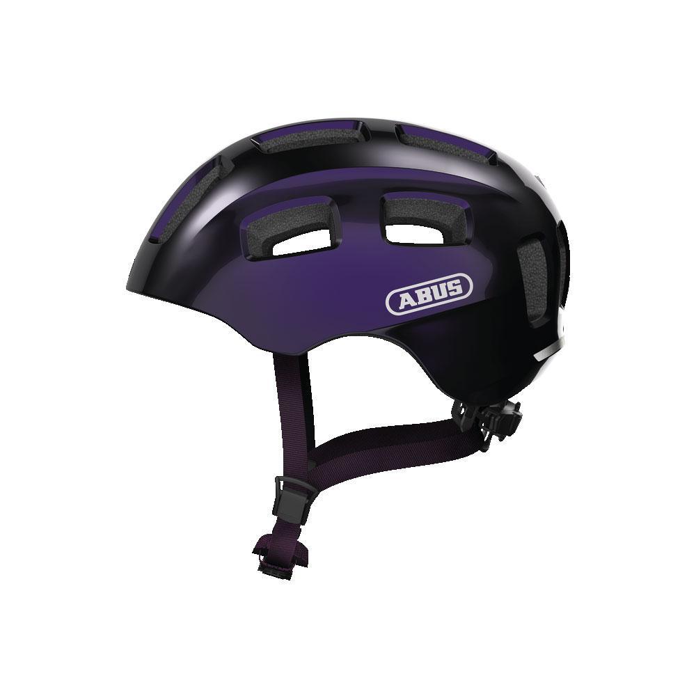 ABUS YOUN-I 2.0 Kids Bisiklet Kaskı M - Black Violet