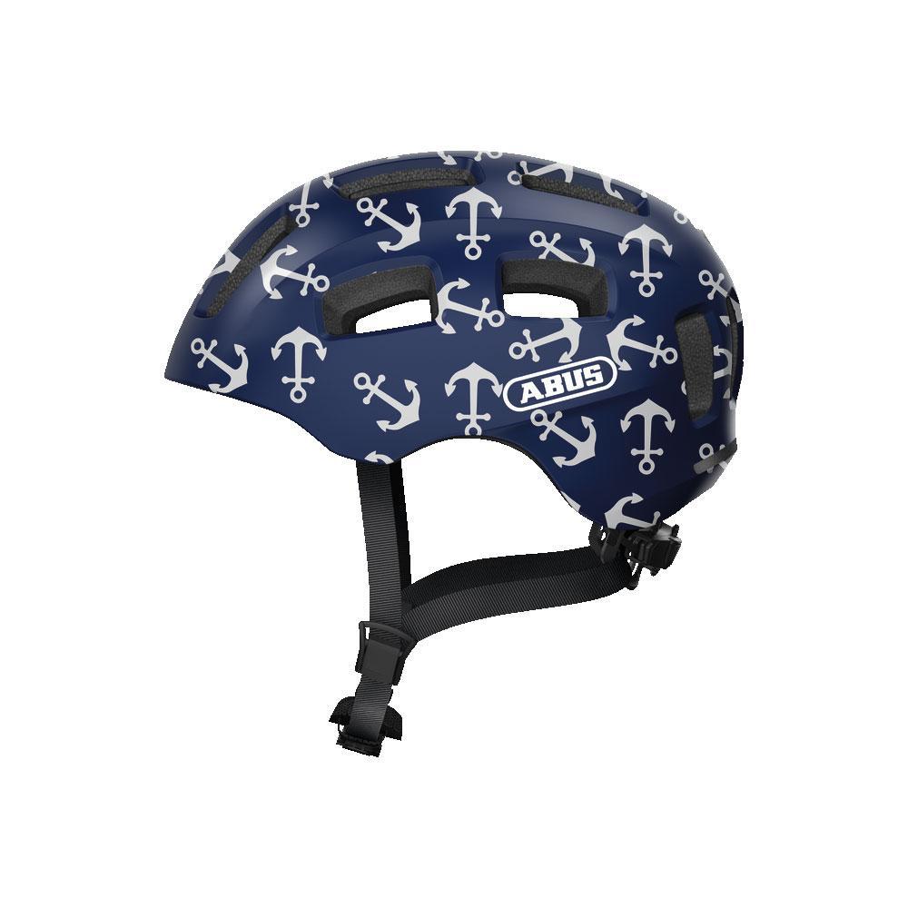 ABUS YOUN-I 2.0 Kids Bisiklet Kaskı M - Blue Anchor