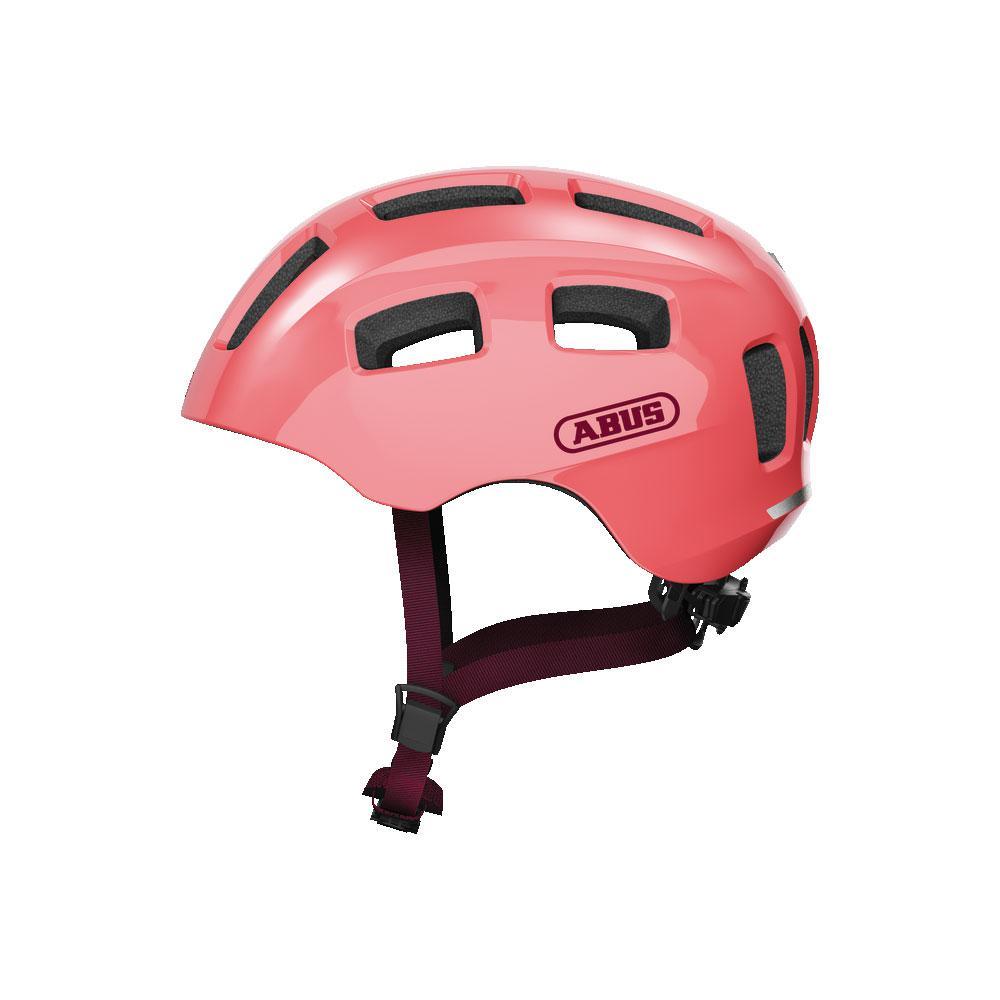 ABUS YOUN-I 2.0 Kids Bisiklet Kaskı M - Living Coral