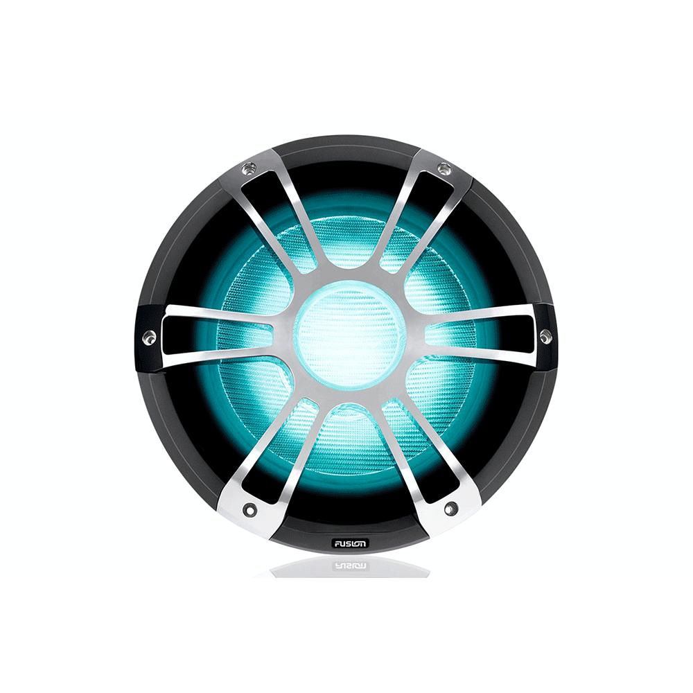 Fusion SG-SL122SPC 1400 Watt Sports Krom Marine CRGBW LED Subwoofer