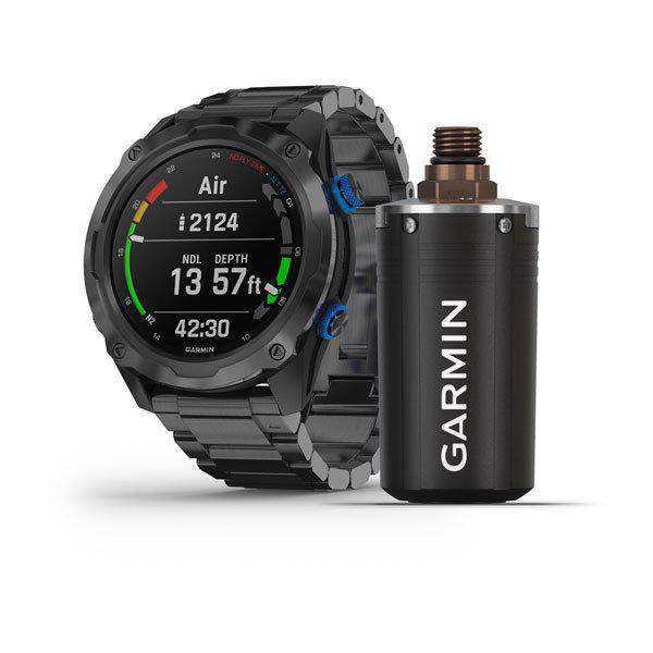 Garmin Descent Mk2i Titanyum Kayışlı Dalış Saati-Descent T1 Bundle