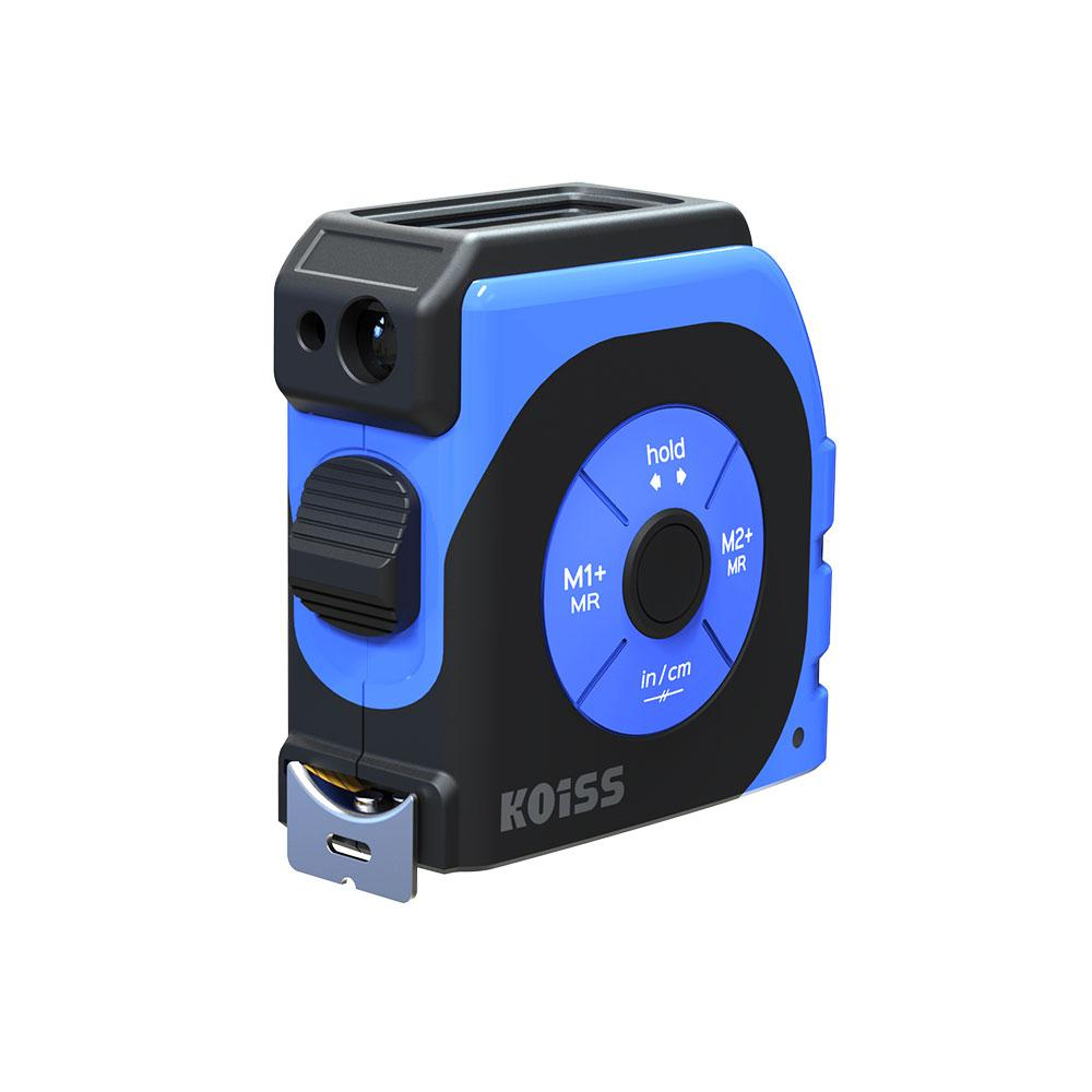 Koiss K4TM Lazer Mesafe Ölçerli Dijital Şerit Metre